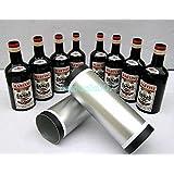 空筒からボトル8個出現/乗算ボトルブラック8本 Multiplying Bottles Black 8 bottles -- ステージマジック