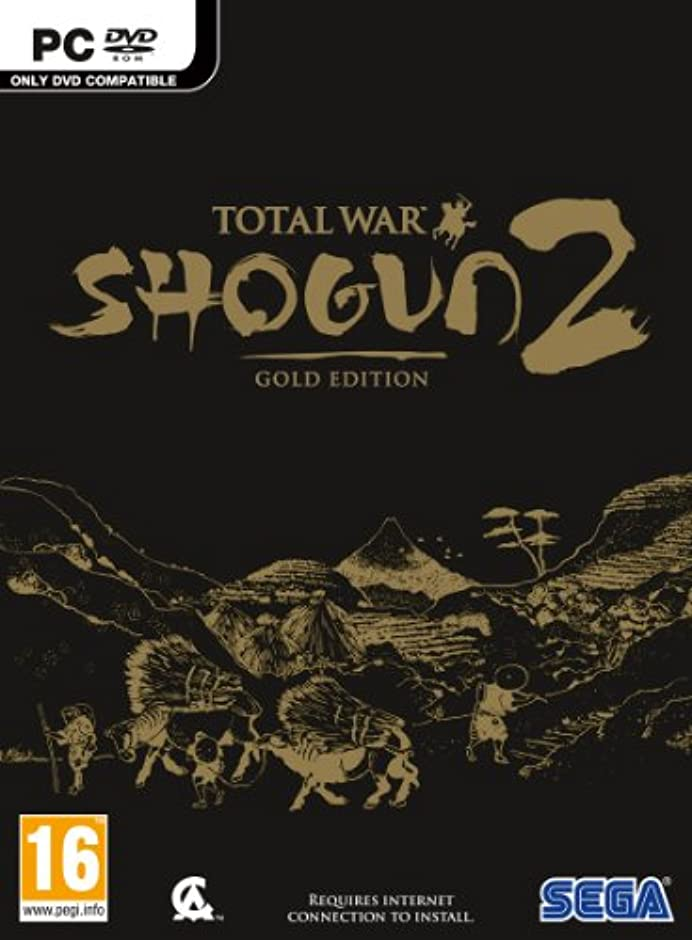 愛情用心秘密のTotal War Shogun 2: Gold Edition (PC 輸入版) [Region Blocked]