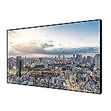 2018 新着 フレームスクリーン 84インチ 16:9 4K HD Ready HDTV (6本固定用なフレーム) プロジェクター スクリーン ホームシアター ホワイト