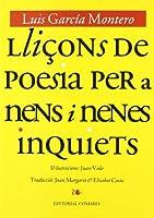 Lliçons de poesia pera nens i nenes inoviets