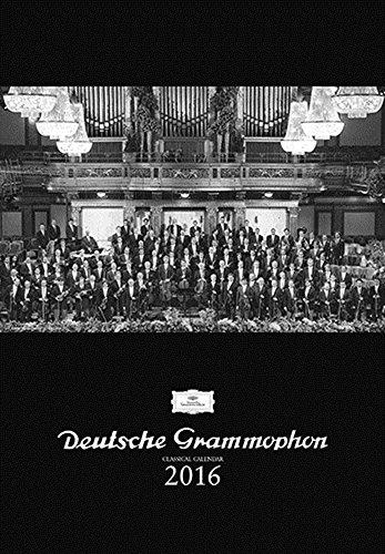 【カレンダー】 ドイツ・グラモフォン・DGカレンダー2016...
