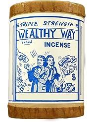 高品質Triple Strength Wealthy Way Powdered Voodoo Incense 16オンス