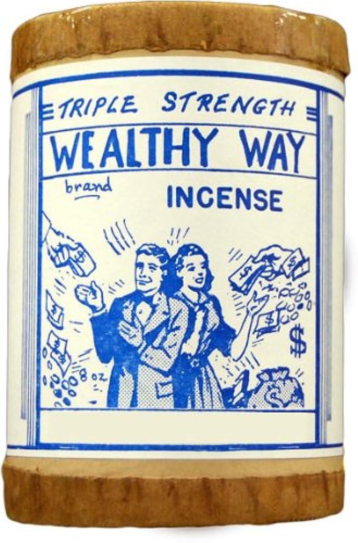 面積誕生日面積高品質Triple Strength Wealthy Way Powdered Voodoo Incense 16オンス