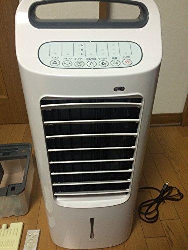 オークセール 加湿つき温冷風扇【扇風機】&【暖房機器】siro...