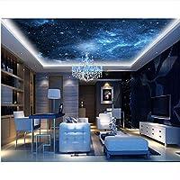 Weaeo カスタム宇宙の壁紙夢の星は、寝室の天井の壁のKtvバーの天然素材を寝室に使用-280X200Cm