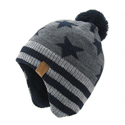 LittleSpring耳あて付き帽子の写真