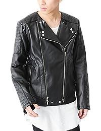 (ベストマート)BestMart 大人 上質フェイクレザー ライダースジャケット メンズ 820919