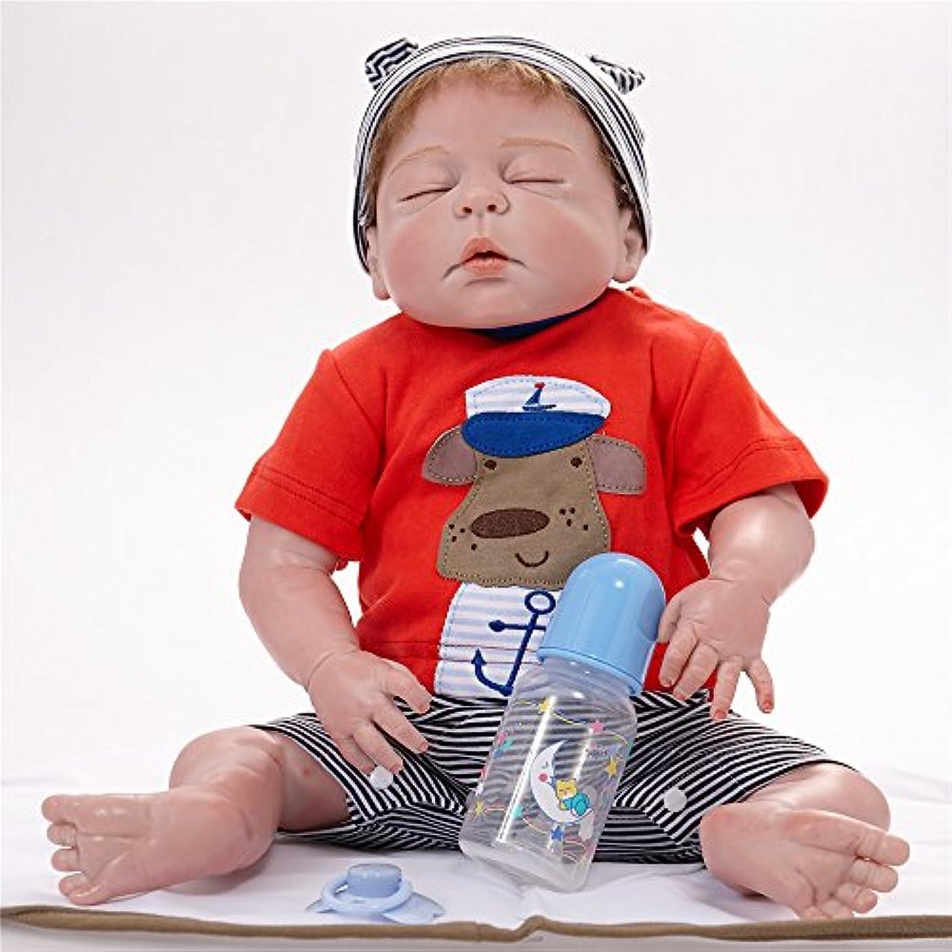 多様な真向こう新しさPKJOkmjko オールシリコンの人形の生まれ変わりな女の子の人形23寸58センチ迫真姫の子供のおもちゃの子供の誕生日プレゼント