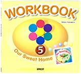 キッズ英語絵本シリーズ ワークブック 絵本WORKBOOK 5 Our Sweet Home