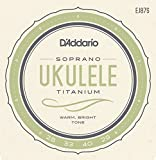 D'Addario ダダリオ ウクレレ弦 EJ87S Titanium Soprano ソプラノ 【国内正規品】