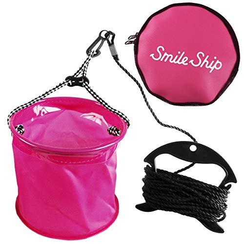 タカミヤ(TAKAMIYA) SmileShip カバー付き水汲みバケツ ピンク 15cm