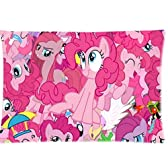 Cotton and Polyester Soft Zippered Pillowcase With My Little Pony Pinkie-Pie Theme 16X24 (Twin Sides) by Customy Throw-pillow-cases [並行輸入品]