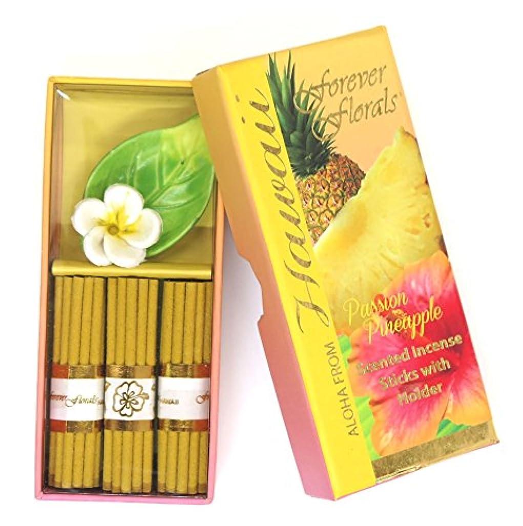 所有者リッチ外国人ハワイアン雑貨 ハワイ雑貨/Forever Florals ミニインセンスボックス お香 パッションパイナップル 【お土産】