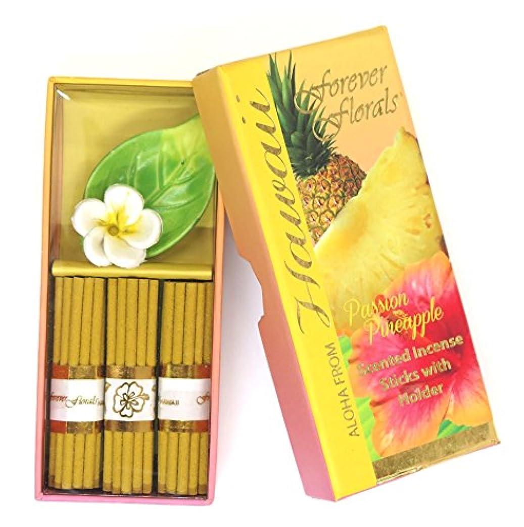 デッドロック電気的消去ハワイアン雑貨 ハワイ雑貨/Forever Florals ミニインセンスボックス お香 パッションパイナップル 【お土産】