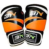 BN 10oz ボクシンググローブ オレンジ色 パンチンググローブ キックボクシング 格闘技 空手 ミット サンドバッグ