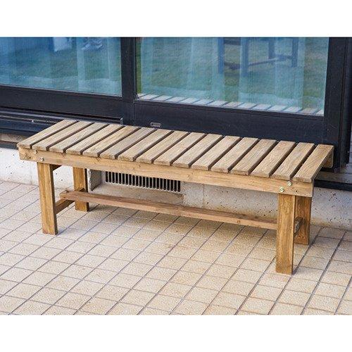 D2オリジナル 木製縁台 120cm
