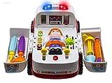 Wishtime ミニドクターセット お医者さんごっこ 救急車 よくばり おもちゃ 三歳から 知育シリーズ