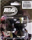 R&G(アールアンドジー) コットンリール ブラック CBR600RR(03-06)、CBR1000RR(04-15)、ZX-10R(11-15)、S1000XR(15-)、GSXR-600/750(96-12)、GSX-R1000(K1-L5)、GSX-S1000/F(15-) RG-CR0001BK