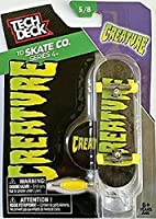 [Spin Master]Spin Master 2016 Tech Deck TD Skate Co. Series 4 [5/8] Creature Finger Skateboard with Display Stand [並行輸入品]