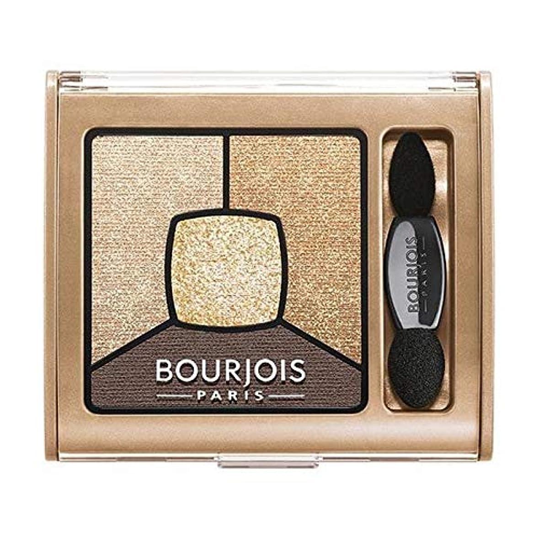 ショッキング公園ロードブロッキング[Bourjois ] ブルジョワスモーキー話クワッドアイシャドウ - ゴールド版 - Bourjois Smoky Stories Quad Eyeshadow - Gold Edition [並行輸入品]
