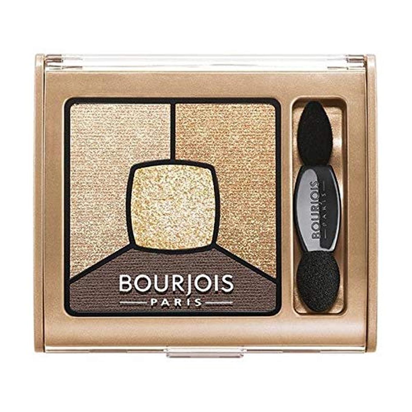 十億普通の額[Bourjois ] ブルジョワスモーキー話クワッドアイシャドウ - ゴールド版 - Bourjois Smoky Stories Quad Eyeshadow - Gold Edition [並行輸入品]