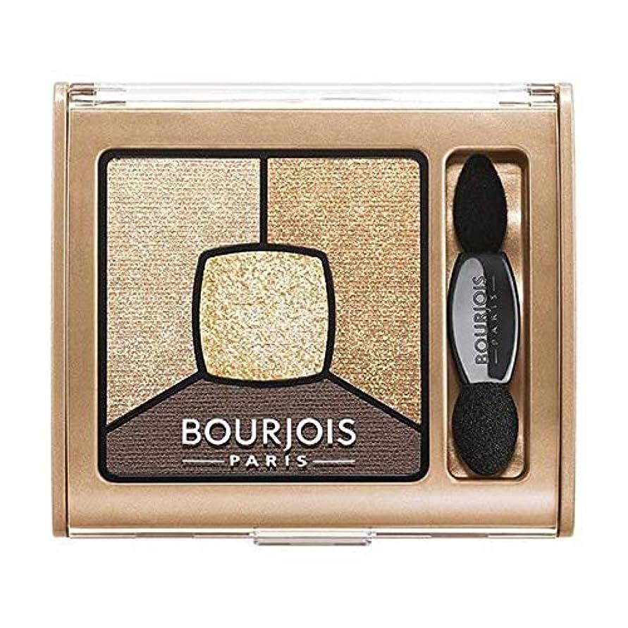 増加するうなるどういたしまして[Bourjois ] ブルジョワスモーキー話クワッドアイシャドウ - ゴールド版 - Bourjois Smoky Stories Quad Eyeshadow - Gold Edition [並行輸入品]