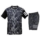 Tシャツ・ハーフ パンツ 上下 メンズ adidas アディダス Zero Position 半袖/ハーフ DJG46 BLK J/Lサイズ