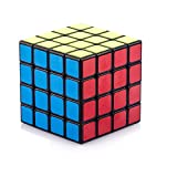 Twobee 立体パズル スピードキューブ ルービックキューブ ポップ防止 競技専用 回転スムーズ ストレス解消 知育玩具 世界基準配色 4*4*4 (ブラック)