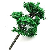 ShopXJ ジオラマ 模型 木 森 材料 キット 鉄道 庭 建物 100本セット(4cm)