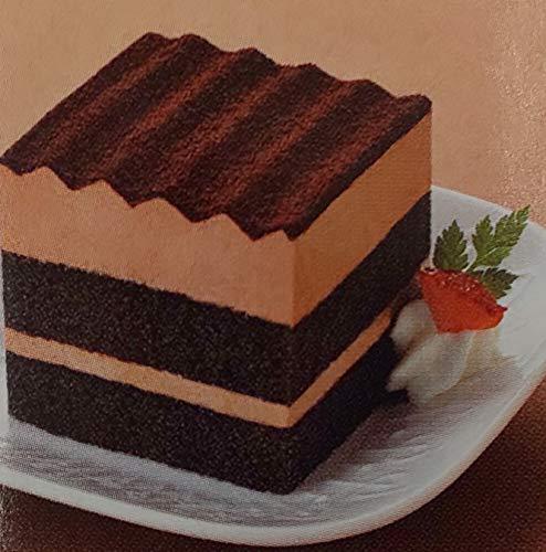 洋菓子 スクエア ポーション ケーキ ( ショコラ ) 120個 ( 個約36g ) 業務用 冷凍