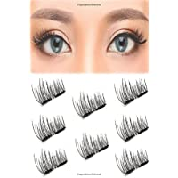 3D Magnetic False Eyelashes Upgraded Dual Magnetic Eyelash Extensions Lashes
