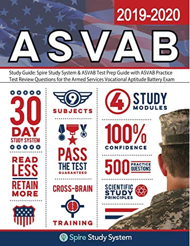 Download ASVAB Study Guide 2019-2020 by Spire Study System: ASVAB Test Prep Review Book with Practice Test Questions 0999642413