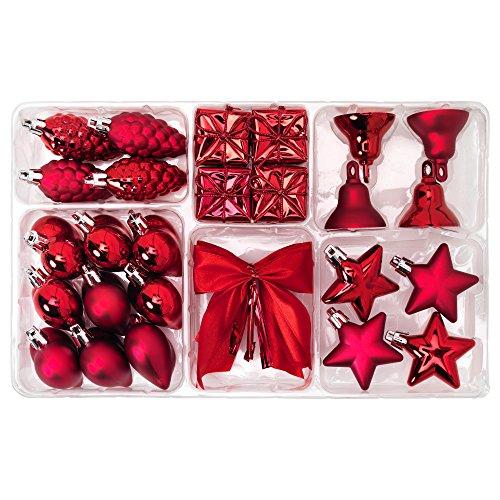 RoomClip商品情報 - IKEA VINTER 2015 40305848 クリスマス ハンギング デコレーション29点セット レッド