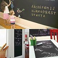ウォールステッカー 黒板 [壁に貼ってはがせる黒板] おしゃれ 壁紙シール ウォールシール はがせる DIY 壁紙 シール