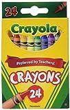 Crayola 52-3024 24本入りクレヨン 12 52-3024