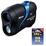Nikon ゴルフ用レーザー距離計 COOLSHOT 80i VR LCS80IVR + TOSHIBA CR2G 2P カメラ用リチウムパック電池 セット