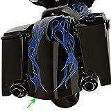 アレンネス Arlen Ness リアーフェンダーキット バガー デュアルマフラー用未塗装 97年-08年 FLT テールライト等無し 06-478 1401-0463