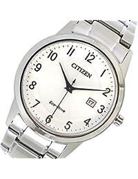 シチズン CITIZEN エコ・ドライブ クオーツ メンズ 腕時計 AW1231-58B シルバー[並行輸入品]