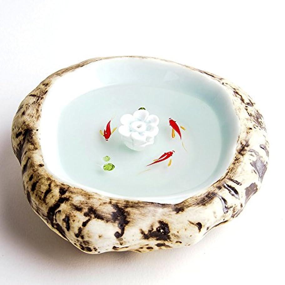 非アクティブハプニング石のお香立て お香たて 香の器 お香を焚いて 香皿,陶磁器、白
