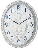 CITIZENその他 ファンタジーシャトー 電波掛け時計 4MN514-003の画像