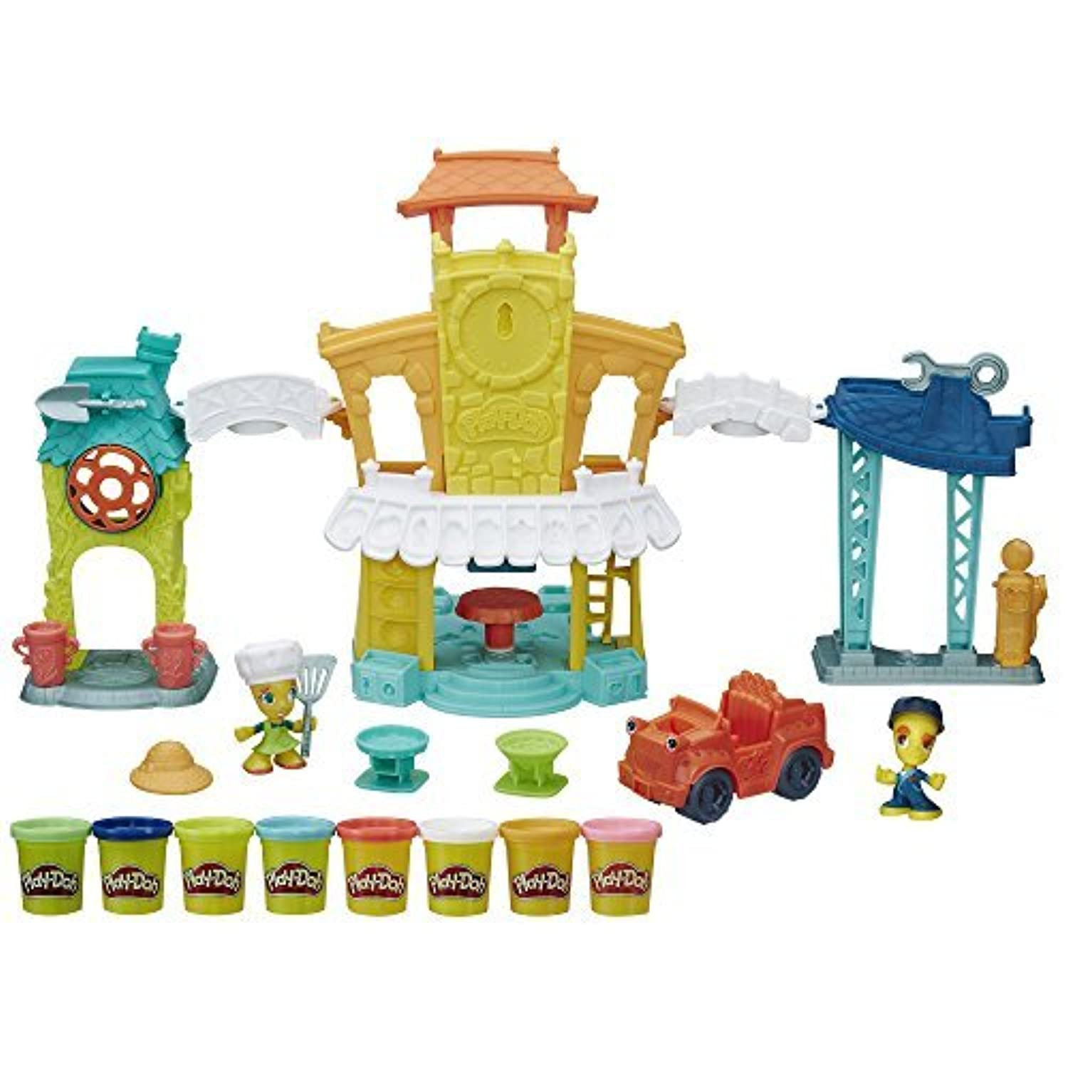 Play-Doh Town 3-in-1 Town Center [並行輸入品]