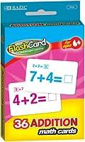 BAZIC Additionフラッシュカード( 36/パック) (パックof 72)