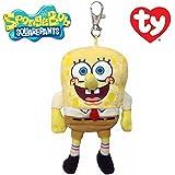 スポンジボブ ty キーフック付 マスコット キーホルダー ぬいぐるみ SpongeBob ストラップ グッズ かわいい 女の子 男の子 人気 プレゼント