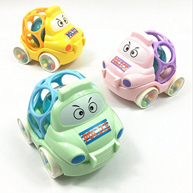 YChoice 可愛い赤ちゃんのおもちゃ ギフト 赤ちゃんの愛らしいハンドキャッチボール おもちゃ ギフト 幼児 魅力的 小さな漫画のカーボール