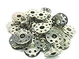 ボビン 職業用 工業用 30個セット (8穴)