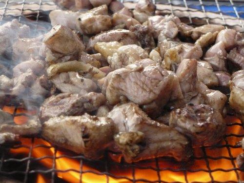 宮崎エヌフーズ 宮崎県産 鶏もも炭火焼 500g【お特用サイズ】