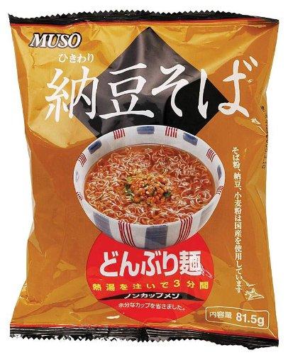 どんぶり麺・納豆そば81.5g ×4個セット
