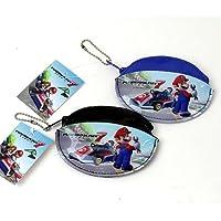 (スーパーマリオ) マリオカート7 コインケース コインパース 小銭入れ 財布 マリオ (黒)