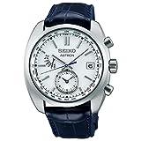 [セイコーウォッチ] 腕時計 アストロン ソーラー電波 8B63ワールドタイム クラシックシリーズ SBXY021 メンズ ブルー