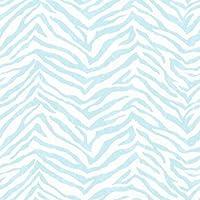 チェサピークchr11678Mia Aqua Faux Zebra Stripes壁紙
